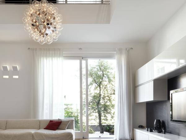 illuminazione di design per interni
