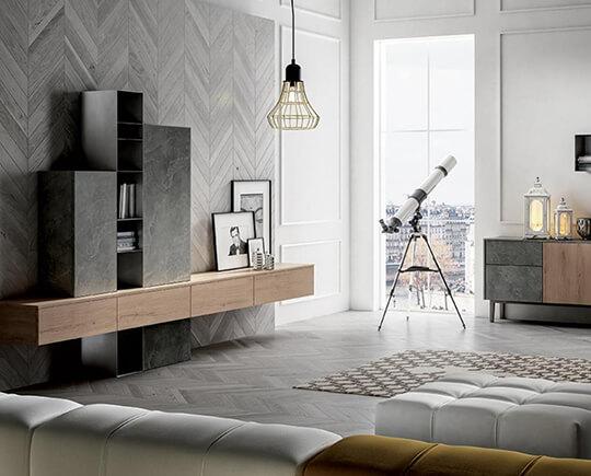 Arredamento per il soggiorno a brescia mobili soggiorno for Arredamento brescia