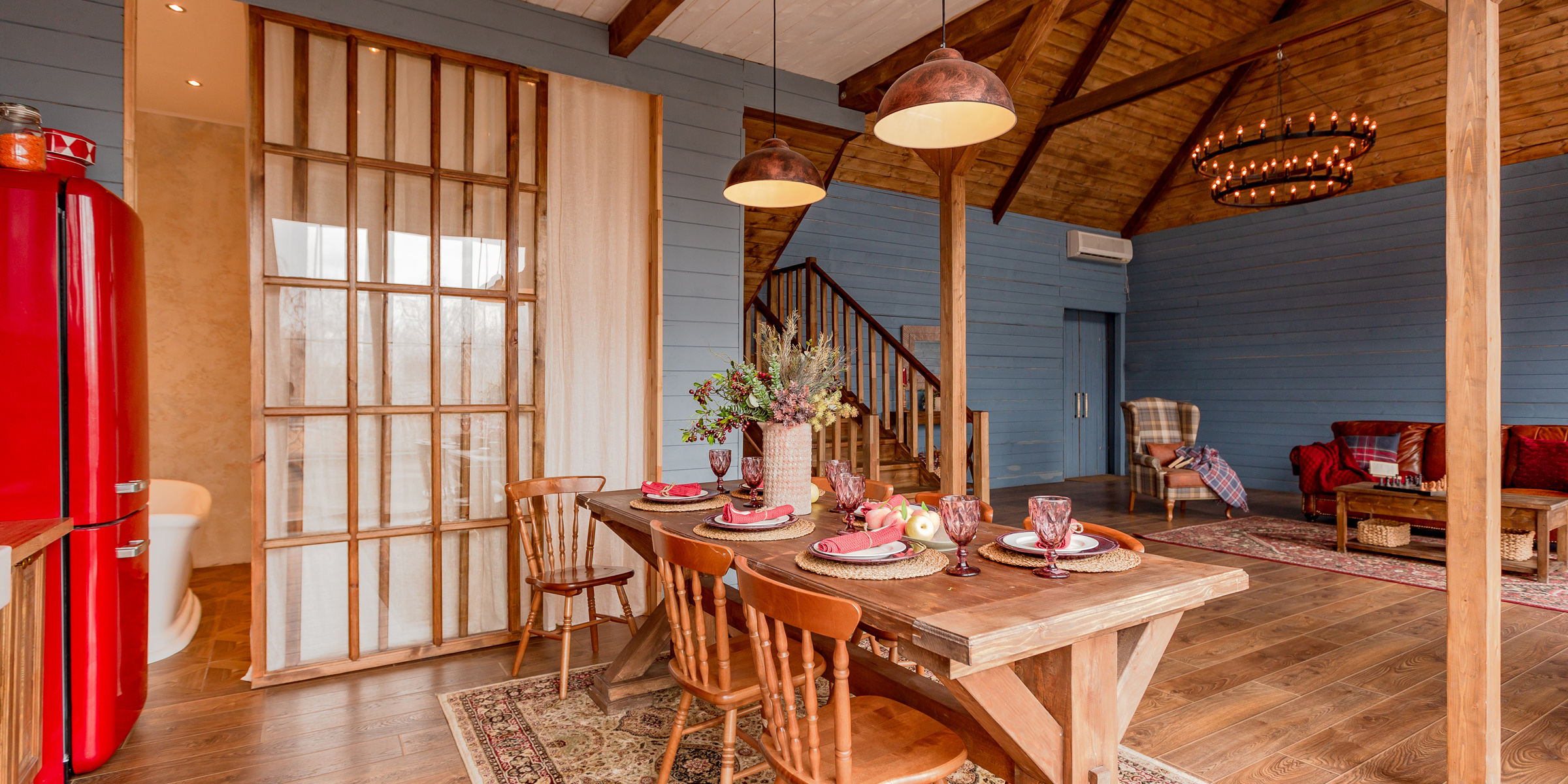 stile country casa